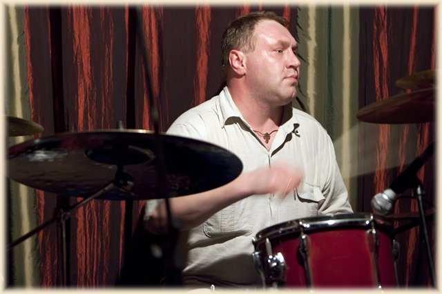 Сергей Чекмаренко — ударник группы Plumbum Dreams